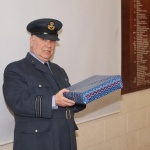 Wing Staff Officer Squadron Leader Rimmer retires…