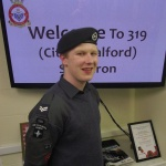 Salford Cadet springs to action in response to a fire