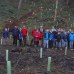 75th Anniversary Tree Planting at Lyme Park